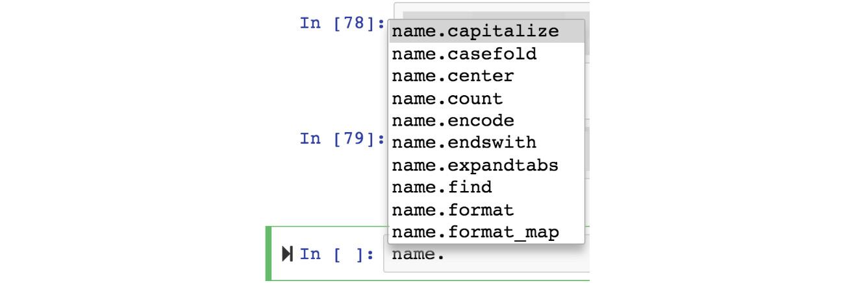 Figure 1.10: Setting a variable name via the dropdown menu